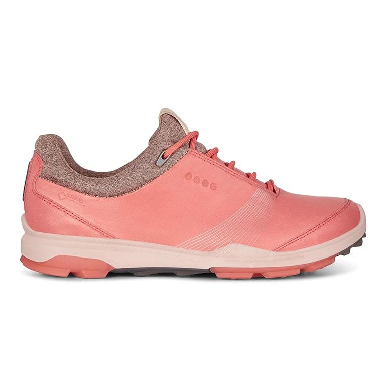 limitierte Anzahl besserer Preis für Detaillierung Ecco Biom Hybrid 3 Gore-Tex Ladies Golf Shoe Spiced Coral