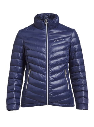 Rohnisch Ladies Light Down Golf Jacket Indigo Night