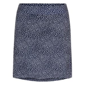 J Lindeberg Ladies Amelie Long Print TX Skort White Dot