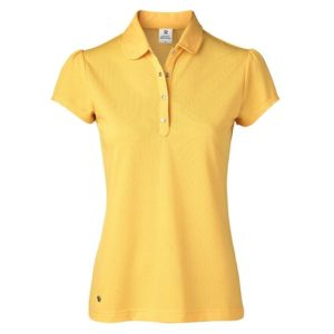 Daily Sports Carina Cap Sleeve Polo Shirt Sunset