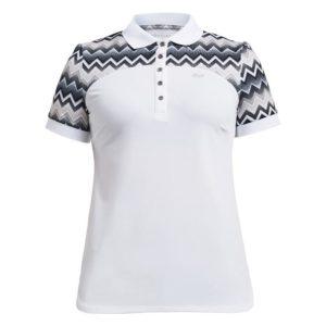 Rohnisch Element Block Polo Shirt Zigzag Sand