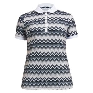 Rohnisch Element Polo Shirt Zigzag Sand