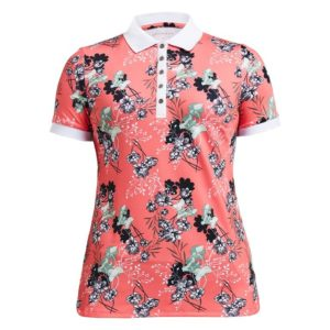 Rohnisch Element Polo Shirt Hermosa Sugar Coral