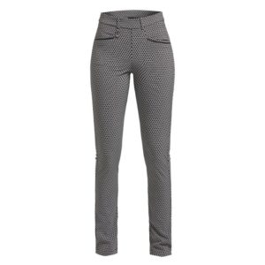 Rohnisch Smooth Pants Black/White Check 30 inch Leg
