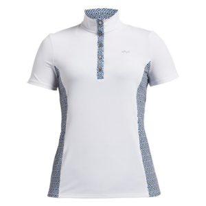 Rohnisch Bliss Polo Shirt Geo Comb Blue