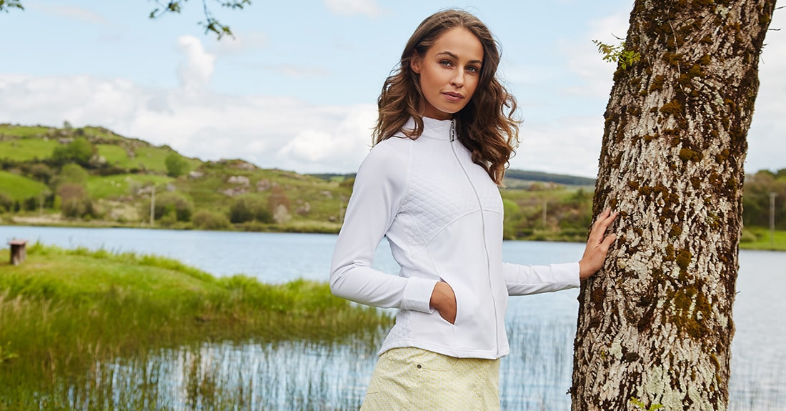 Green Lamb Ladies Golf Clothes