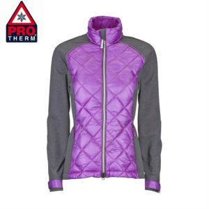Chervo Ladies Moira Golf Jacket Purple