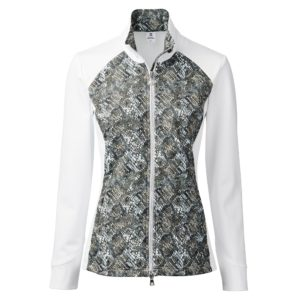 Daily Sports Esmeralda Ladies Golf Jacket White/Cypress