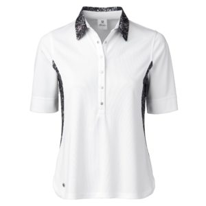 Dailiy Sports Luna 1/2 Sleeve Ladies Golf Polo Shirt White
