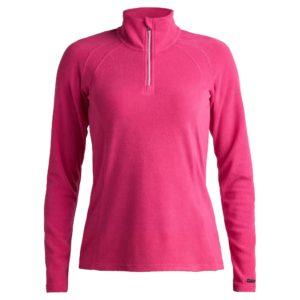 Rohnisch Half Zip Ladies Golf Fleece Base Layer Raspbery