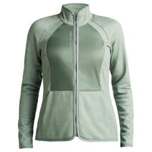 Rohnisch Ivy Ladies Golf Jacket Mid Layer Lily Pad