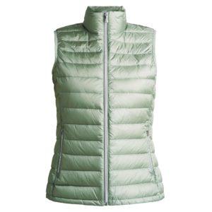 Rohnisch Shine Light Down Vest Lily Pad