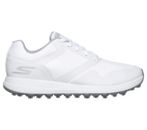 Ladies Skechers Max Fade Golf Shoes White Grey