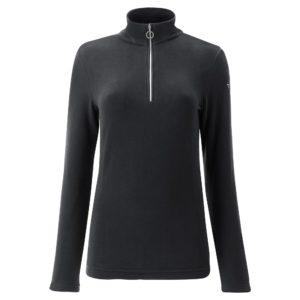 Chervo Thiene Quarter Zip Ladies Thermal Golf Base Layer Black