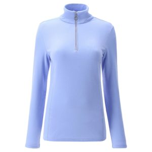 Chervo Thiene Quarter Zip Ladies Thermal Golf Base Layer Lilac