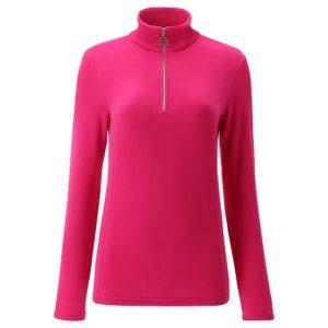Chervo Thiene Quarter Zip Ladies Thermal Golf Base Layer Pink