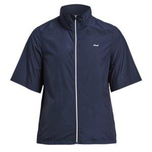 Rohnisch Pocket Short Sleeve Wind Jacket Navy