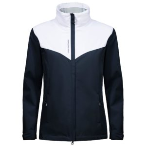 Cross Cloud Waterproof Ladies Golf Jacket Navy