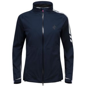 Cross Edge Waterproof Ladies Golf Jacket Navy