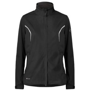 Cross Pro Waterproof Ladies Golf Jacket Black