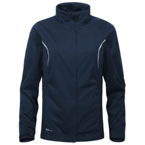 Cross Pro Waterproof Ladies Golf Jacket Navy