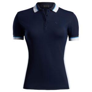 G/Fore Tuxedo Ladies Golf Polo Shirt Twilight-XL