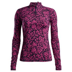 G/Fore Small Floral Print Ladies Golf Mid Layer Twilight-XL