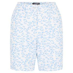 J Lindeberg Gwen Long Printed Ladies Golf Short Animal Blue / White-32