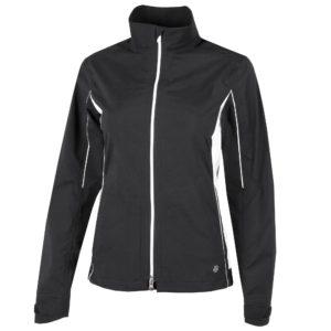 Galvin Green Aila Gore-Tex Waterproof Ladies Golf Jacket Black/White-XXL