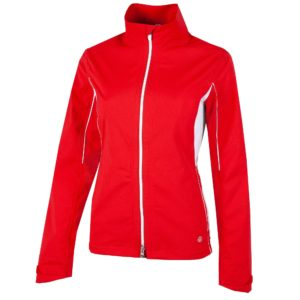 Galvin Green Aila Gore-Tex Waterproof Ladies Golf Jacket Red/White-XL