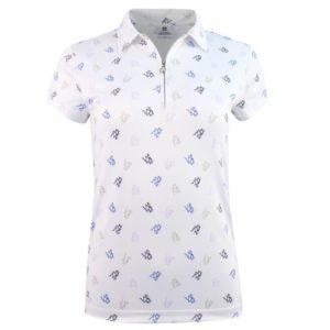 Daily Sports Ventura Cap Sleeve Polo Shirt White-L