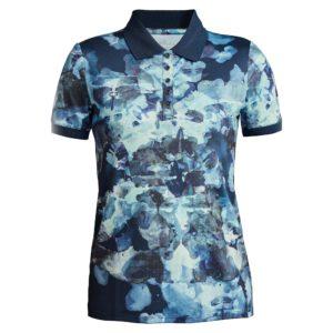 Rohnisch Direction Polo Shirt Blue Utopia-XL