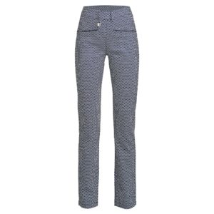 Rohnisch Smooth Pants Navy/Fog Check 30 inch Leg-44