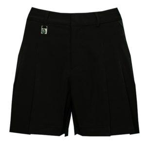 Rohnisch Pleated Shorts Black-42