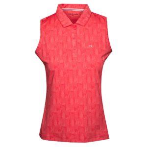 Calvin Klein Avon Ladies Golf Sleeveless Polo Shirt Jete-14