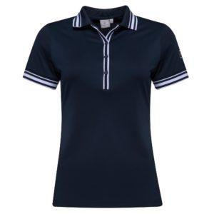 Croos Nostalgia Ladies Golf Polo Shirt Navy-XL