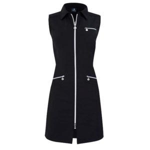 Daily Sports Glam Sleeveless Dress Black-L