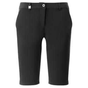 Chervo Ghiaia Superflex Ladies Golf Bermuda Shorts Black-4