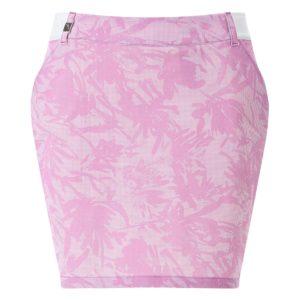 Chervo Jene Deco Print Ladies Golf Skort Pink-4